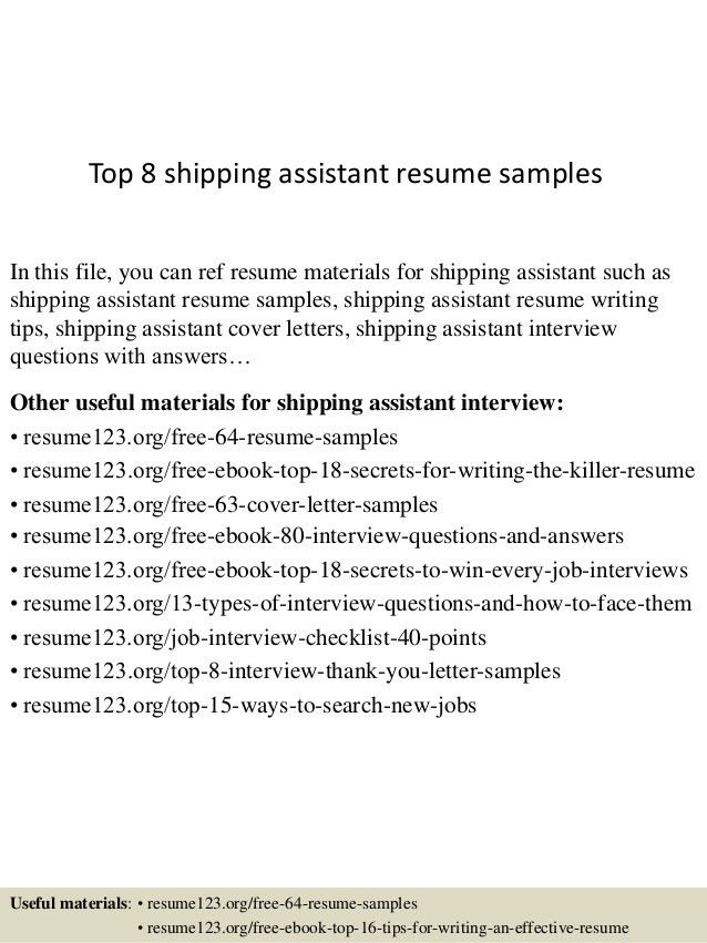 top-8-shipping-assistant-resume-samples-1-638.jpg?cb=1431741051
