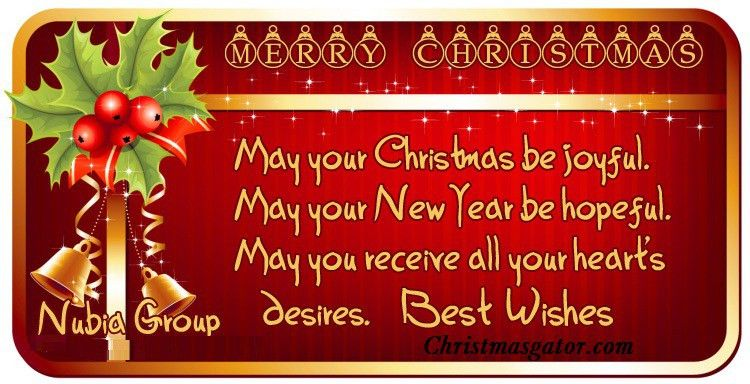 Christmas Wishes Words – Happy Holidays!