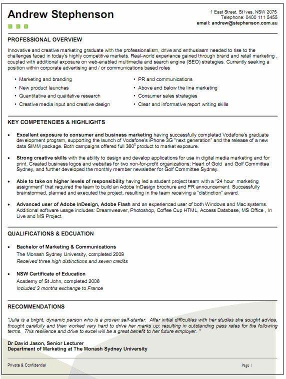 ksa resume samples