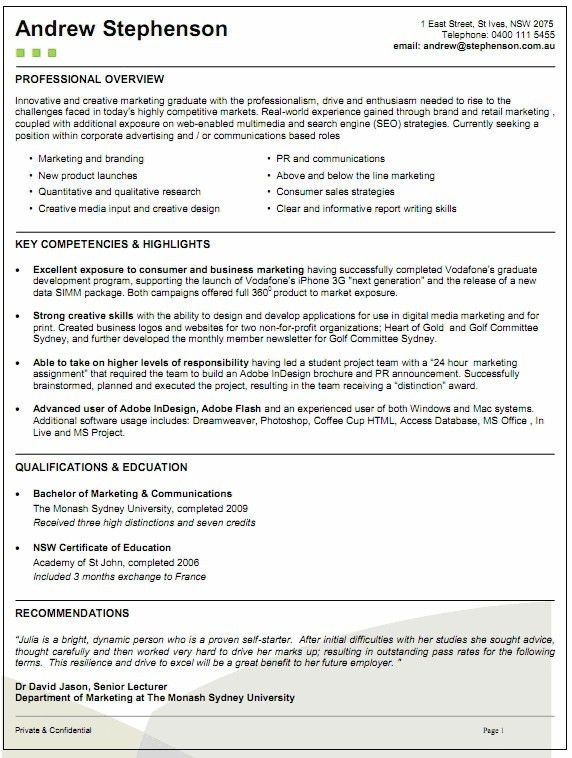 ksa resume examples