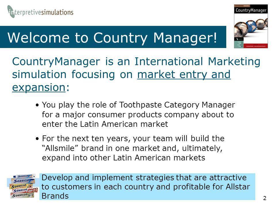 The International Marketing Simulation - ppt video online download