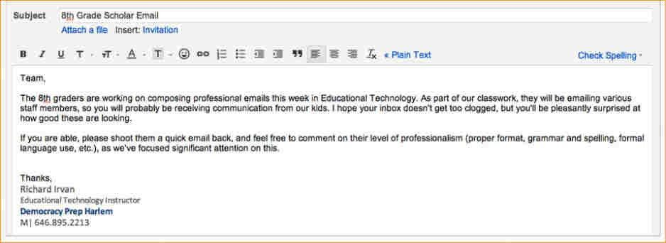 A professional email - Business Proposal Templated - Business ...
