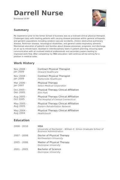 physical therapist resume samples visualcv resume samples database