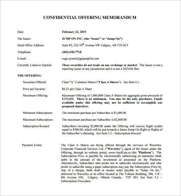 16+ Memorandum Templates – Free Word, PDF Documents Download ...