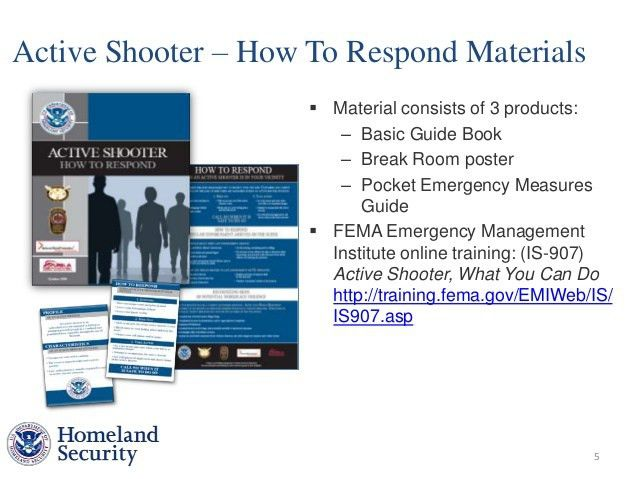 Andrea Schultz, Dept. of Homeland Security, Power Point Presentation