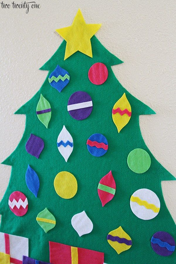 Felt Christmas Tree + Free Patterns