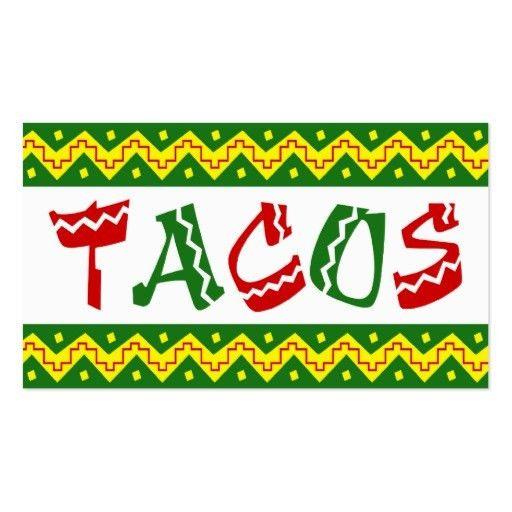 Mexican restaurant Business Card Templates   BizCardStudio