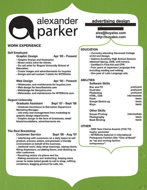 Resume Names That Stand Out Examples | Free Resume Templates