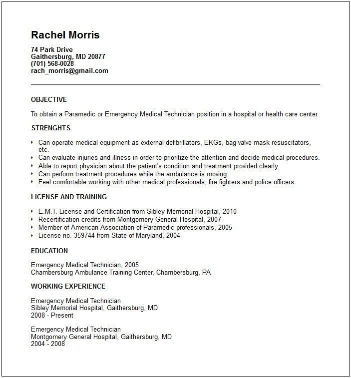 Download Medical Equipment Engineer Sample Resume ...