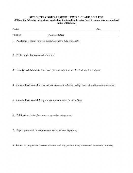Elegant How Do I Fill Out A Resume | Resume Format Web