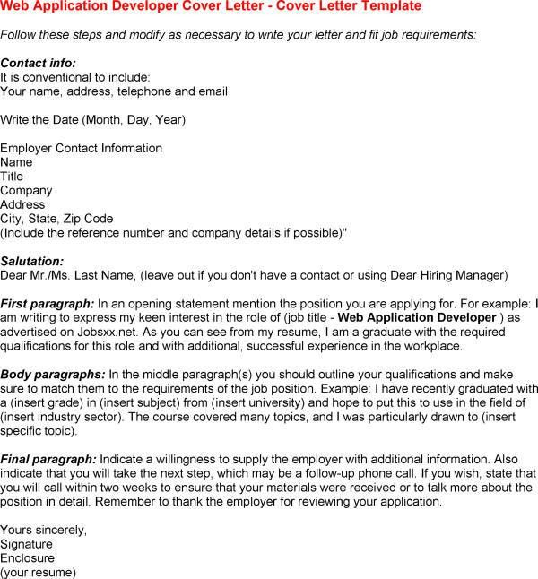 Web Designer Cover Letter Sample Resume Cover Letter in Cover ...