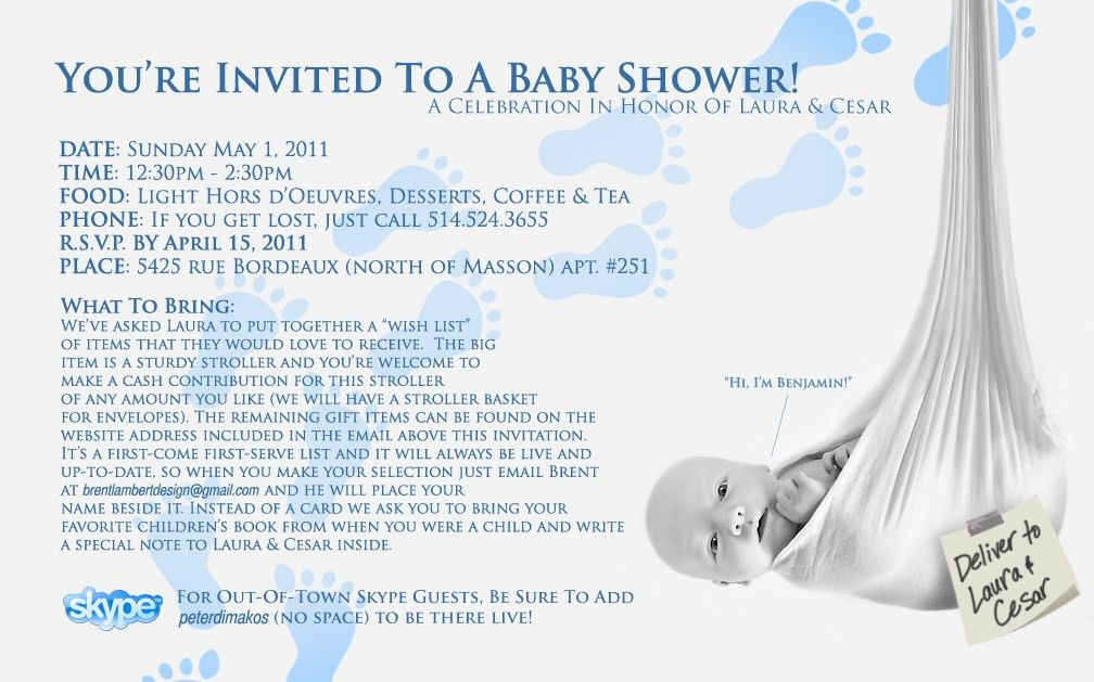 Identifying Your Baby Shower Guest List - Baby Cute