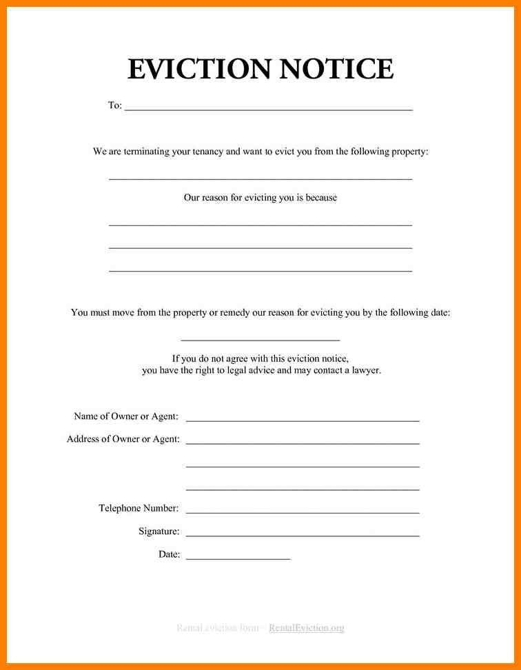 4+ free eviction notice form | artist resumes