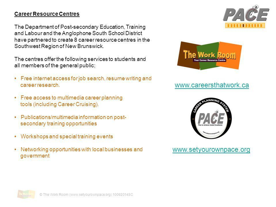 2 Plan to Achieve Career Excellence Welcome to PACE! This is an e ...