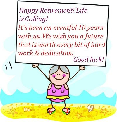 Retirement Wishes Messages - Kind Words for Retirement, Quotes Sayings
