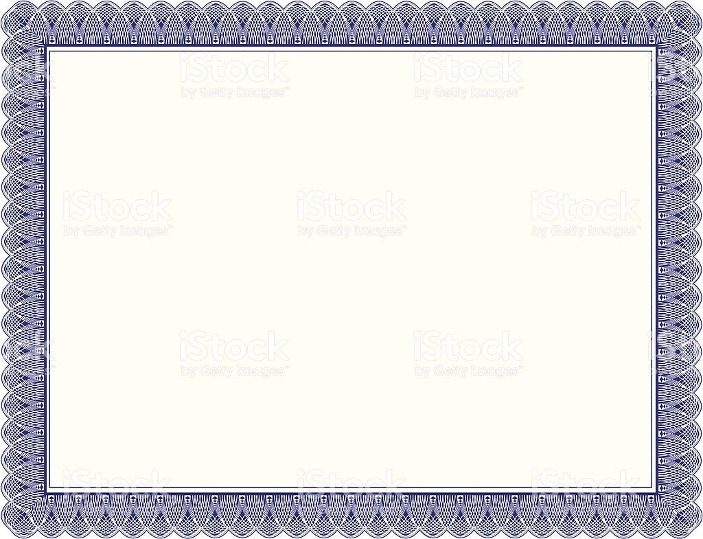Certificate Border Clip Art, Vector Images & Illustrations - iStock
