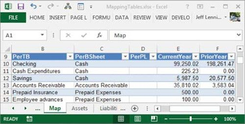 Excel: The power of mapping