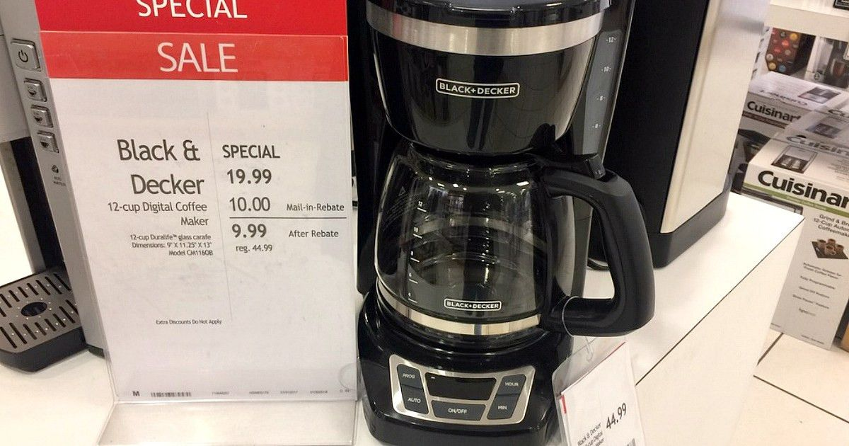 Macy's: Small Kitchen Appliances Just $9.99 After Rebate ...
