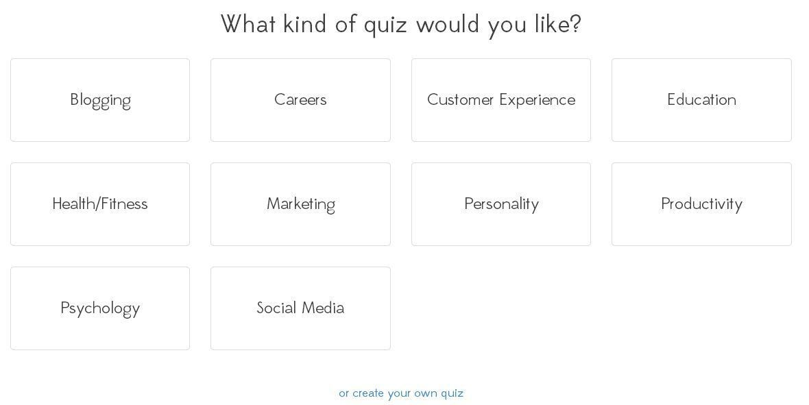How to make a quiz online in less than 5 minutes « Interact