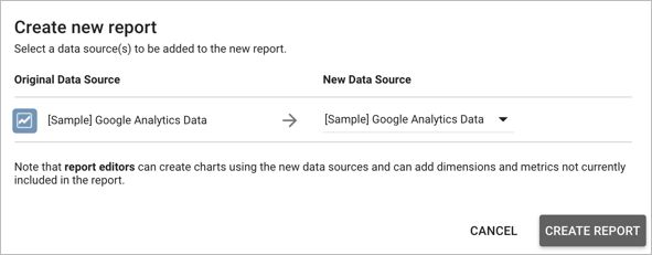 Sample reports and templates - Data Studio (Beta) Help