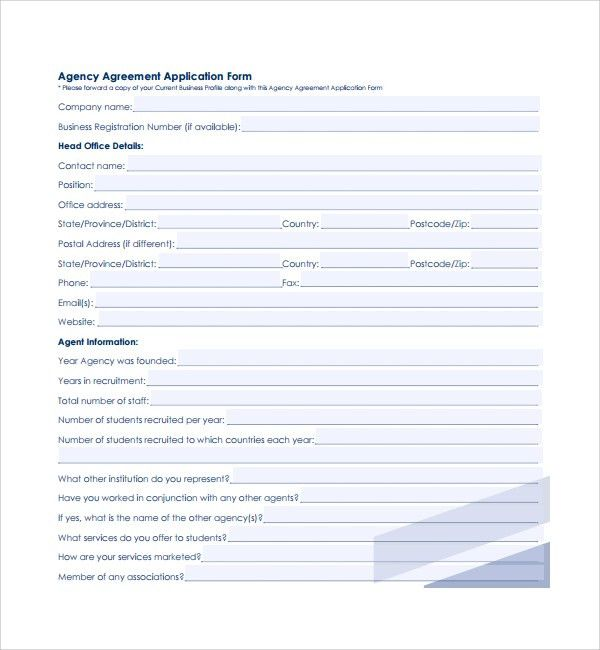 Sample Business Agency Agreement - 7+ Free Documents Download in ...
