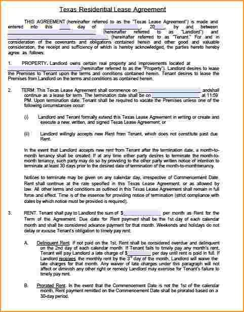 Free Lease Agreement.arizona Commercial Lease Agreement Template ...