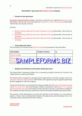 Interest Free Loan Agreement pdf free — 11 pages