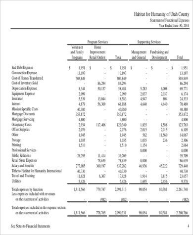 Non Profit Balance Sheet - 8+ Examples in Word, PDF