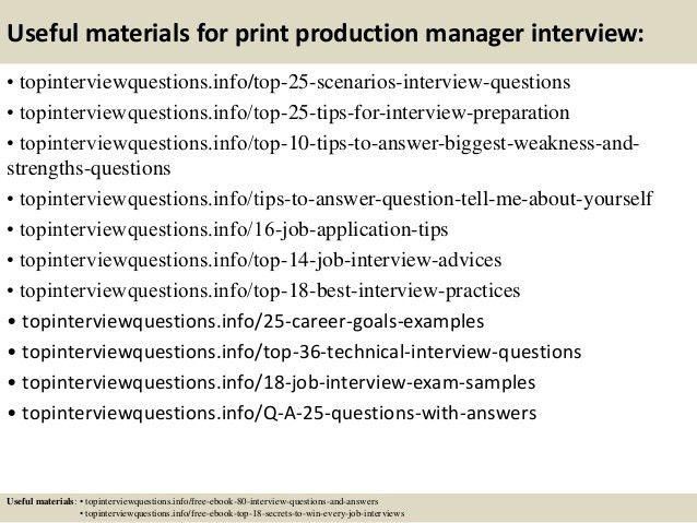 Production Manager Job Description. Job Summary: Production ...