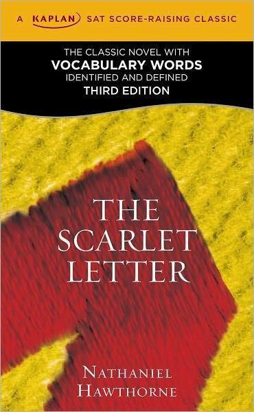 The Scarlet Letter: A Kaplan SAT Score-Raising Classic by ...