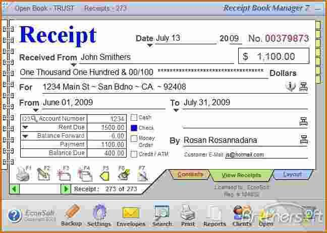 3+ how to fill out a rent receipt | Printable Receipt