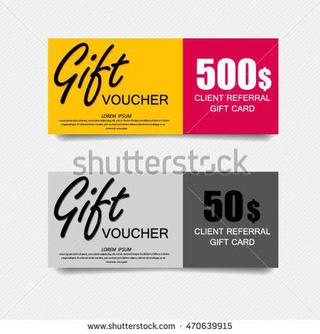 Gift Voucher Template Luxury Design Vector Stock Vector 318663005 ...