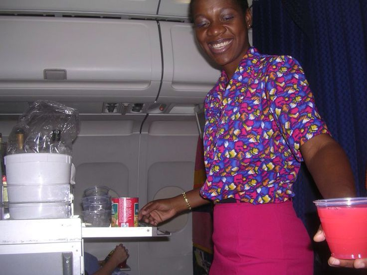 Air Jamaica | Flight Attendant Uniforms Past and Present ...