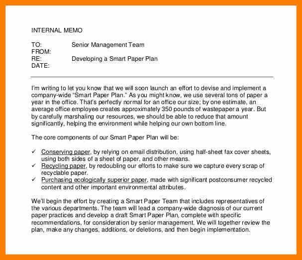 6+ internal memo format letter | sephora resume