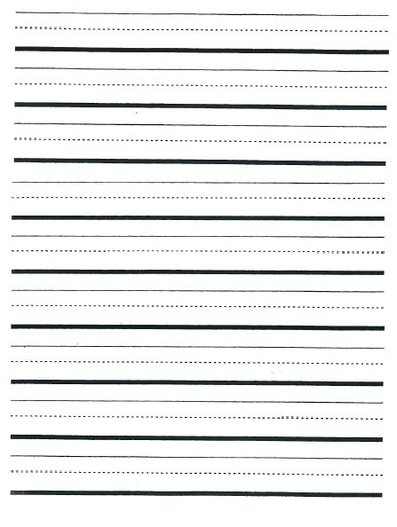 Primary Writing Paper Clipart (69+)