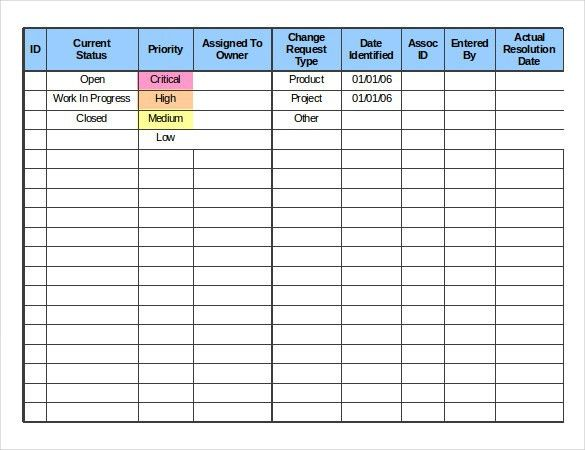 Change Order Template – 20+ Free Excel, PDF Document | Free ...