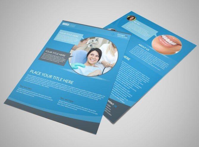 Dental Care Clinic Flyer Template | MyCreativeShop