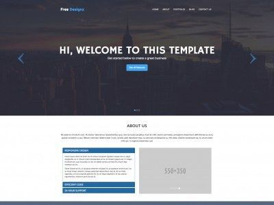 Free web templates, HTML5 and CSS layouts - Page 2 - Just Free ...