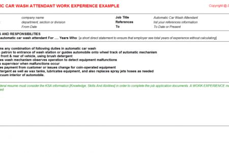 100+ [ Car Wash Resume ] | Human Resources Management 12e Gary ...