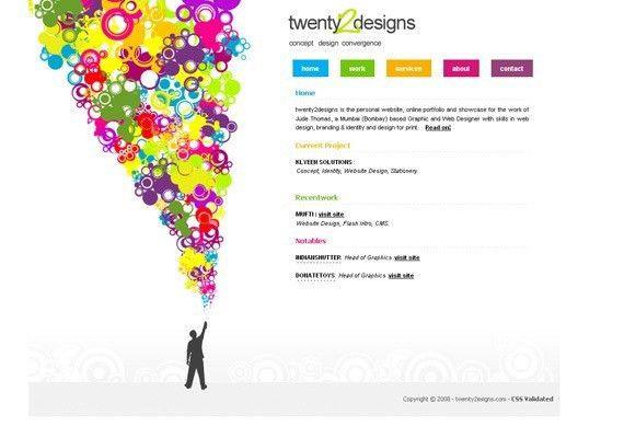 50 Modern Single Page Websites for Inspiration