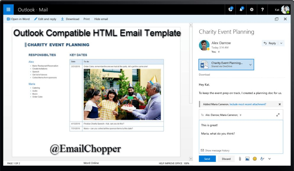 Useful Tips & Tricks To Create Outlook Compatible HTML Email ...