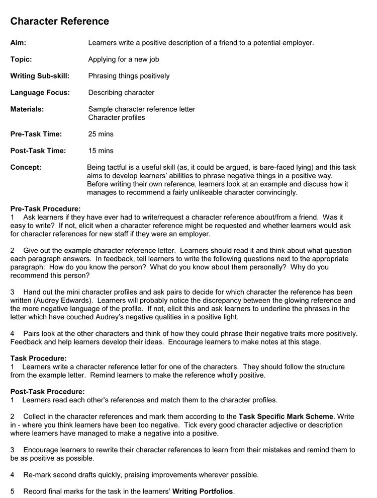 5 Samples of Reference Letter Format to Write Effective Letters
