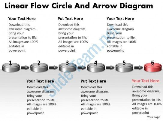 PPT linear flow circle and arrow ishikawa diagram powerpoint ...