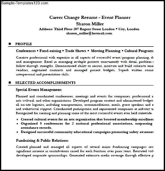 Resume Profile Statement Career Change. 6 sample military to ...