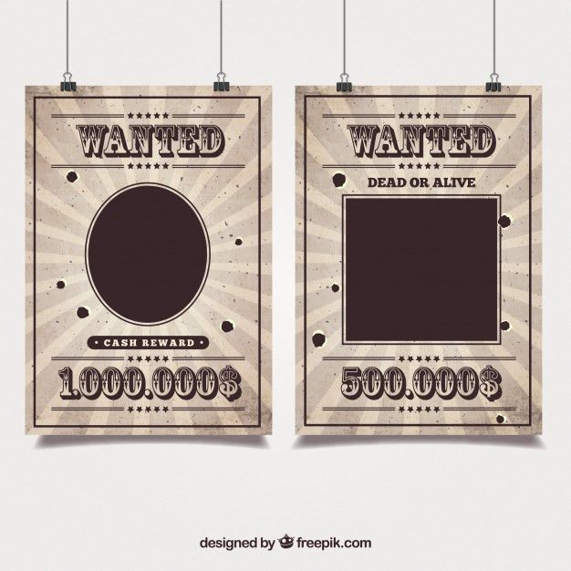Most Wanted Sign Template. 15 best images about wanted poster on ...