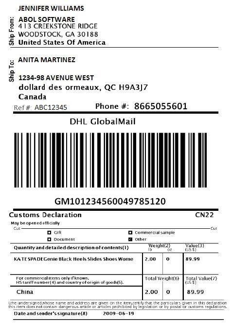 Print DHL Express Shipping Labels via WooCommerce