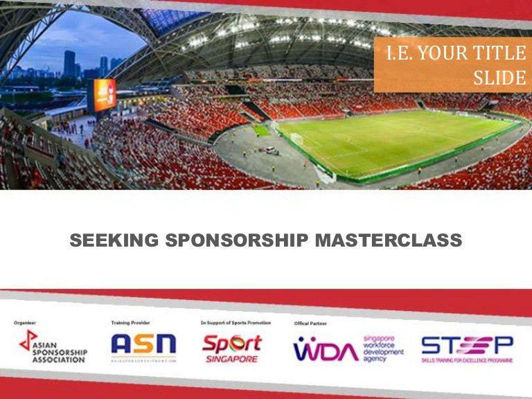 ASN Generic Sponsorship Proposal Template (2016)