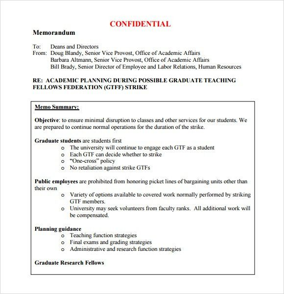 Confidential Memo Template. Public Equities Confidential Memo Pdf ...