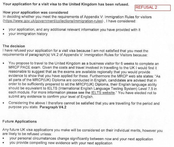 UK visit visa refused twice: first for funds parking, then for ...