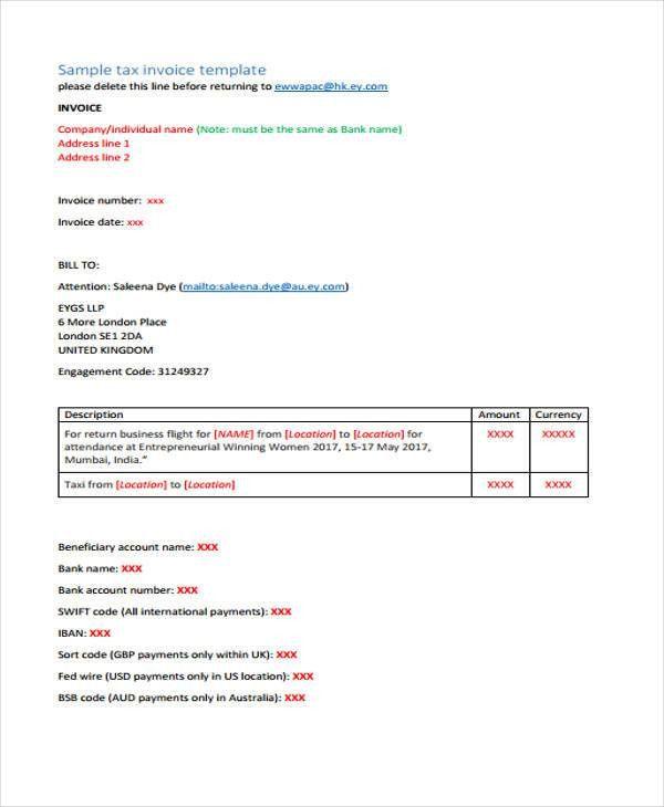 32+ Sample Invoice Templates | Free & Premium Templates